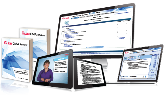 Gleim CMA Review System