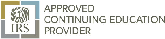 IRS Approved Continuing Education Provider