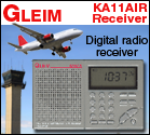 Gleim KA11AIR Receiver: Digital radio receiver