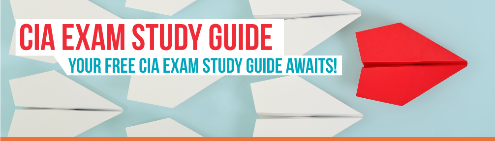 CIA Exam Study Guide: Your free CIA Exam Study Guide awaits!