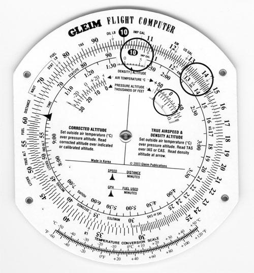 Gleim Flight ComputerE6B ComputerFlight Planning Computer
