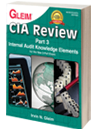 CIA Part 3: Internal Audit Knowledge Elements, 17th Ed. - New 3-Part Exam
