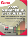 Cost/Managerial Accounting Exam Questions and Explanations book, 10th Ed.