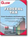 Federal Tax Exam Questions and Explanations book, 22nd Ed.