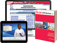 CPA Financial Review System (Book, Test Prep, Audio Review, Gleim Online, Exam Rehearsal, & Simulation Wizard)