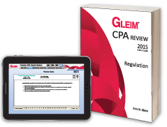 CPA Regulation (Book & Test Prep Online)