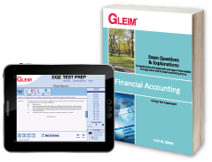 Financial Accounting EQE (Book & Test Prep Software Download)