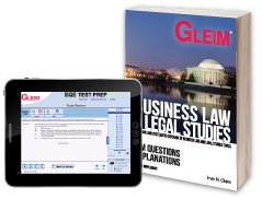 Business Law/Legal Studies EQE (Book & Test Prep Software Download)