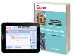 Cost/Managerial Accounting EQE (Book & Test Prep Software Download)