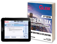 Federal Tax EQE (Book & Test Prep Software Download)