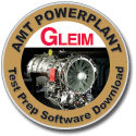 Gleim AMT Test Prep Software Download - Powerplant
