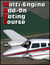 Multi-Engine Add-On Rating Course