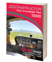 Flight/Ground Instructor FAA Knowledge Test book