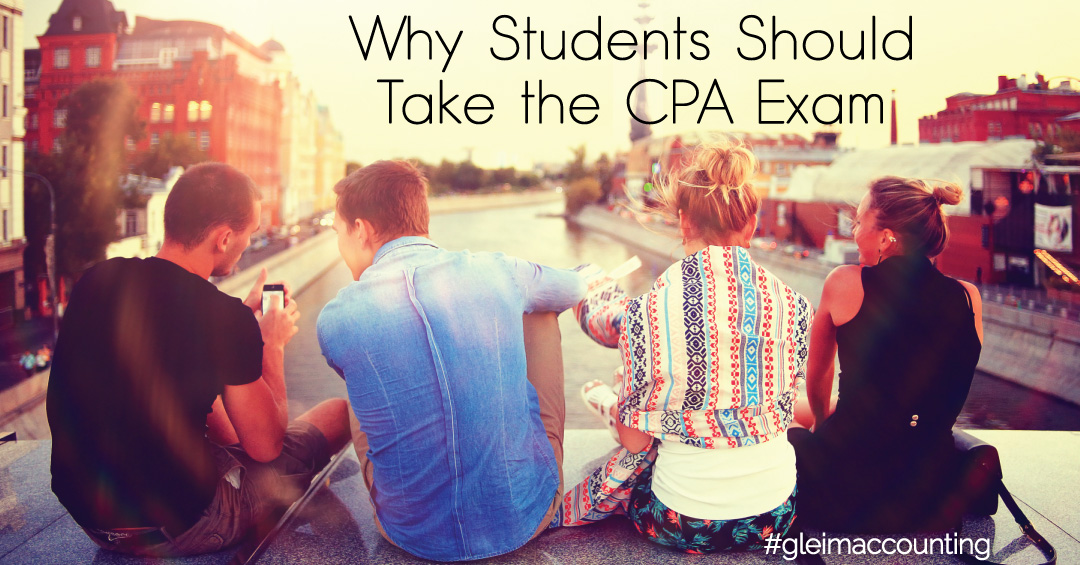why you should take the CPA exam
