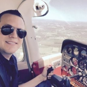Christopher Jolly Piloting Pic