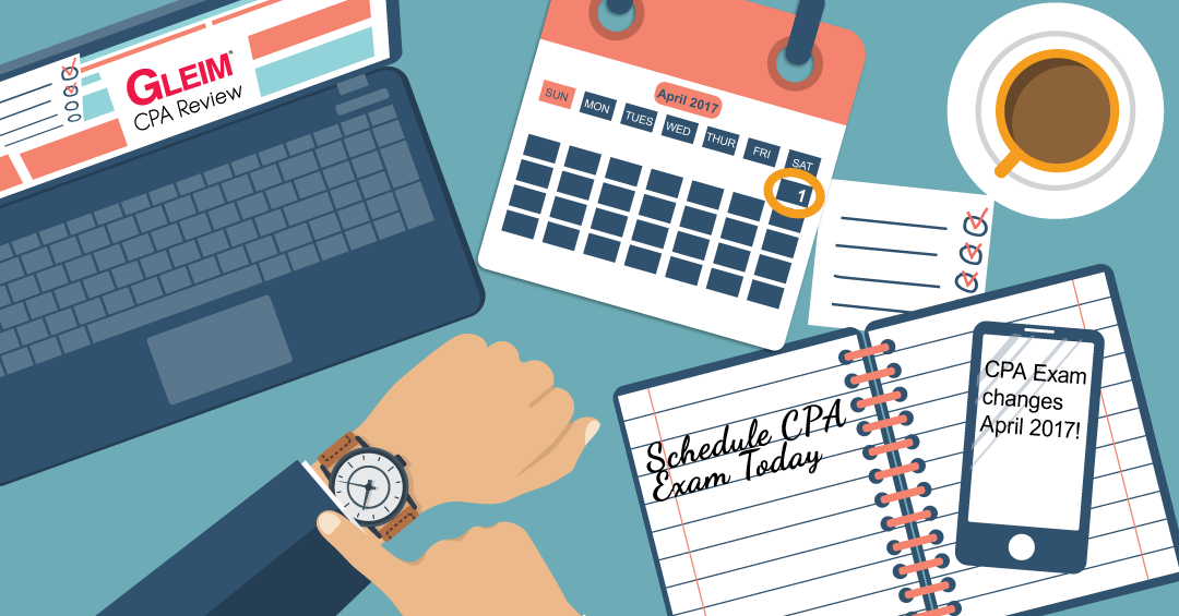 when to schedule cpa exam