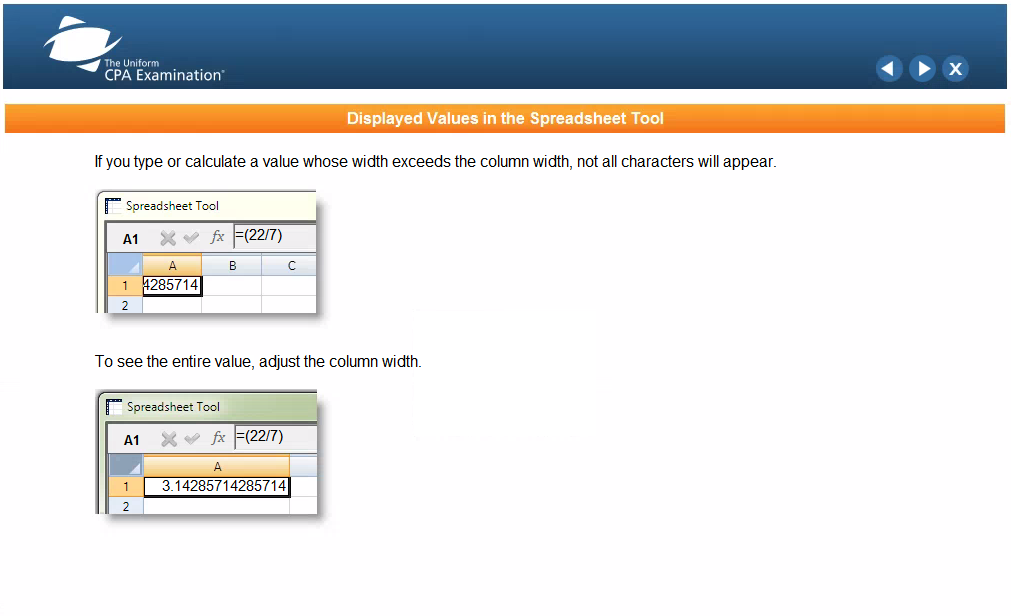 AICPA Sample Test