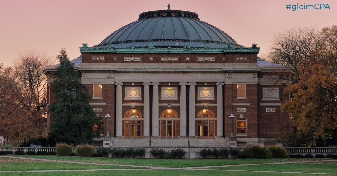 University of Illinois partnership with Gleim