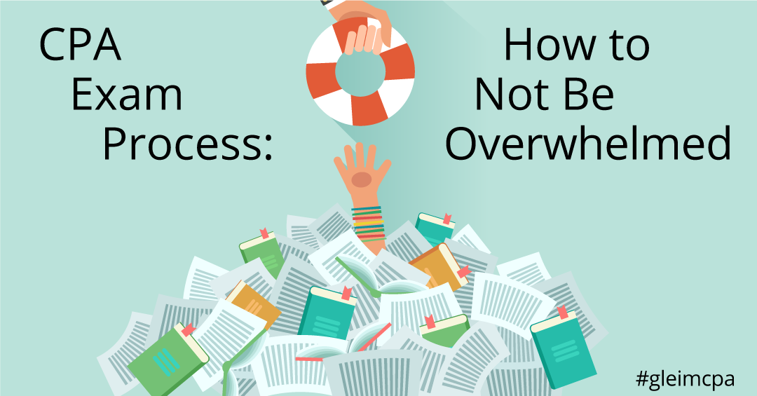 A helping hand to not getting overwhelmed by CPA exam process