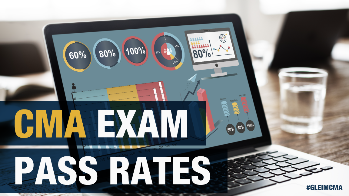 percentages on monitor of the CMA exam pass rates