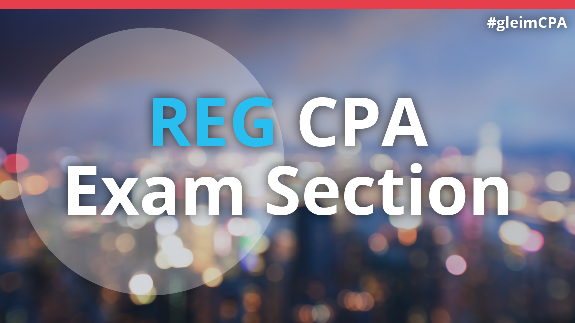 CPA Exam REG Section