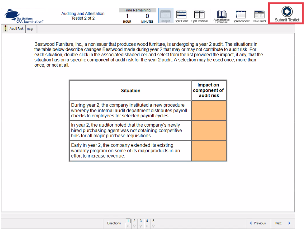 task-based simulations on the new cpa exam