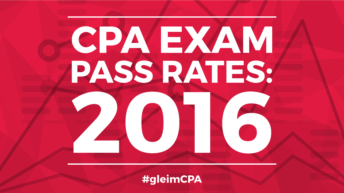 2016 CPA pass rates