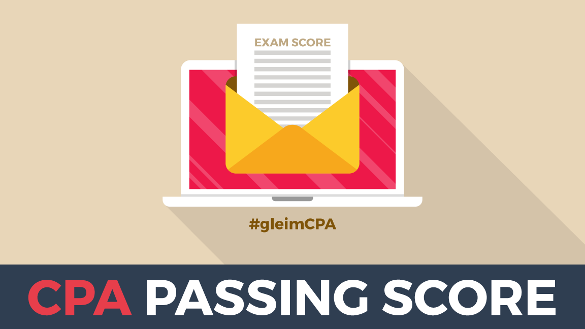 CPA passing score