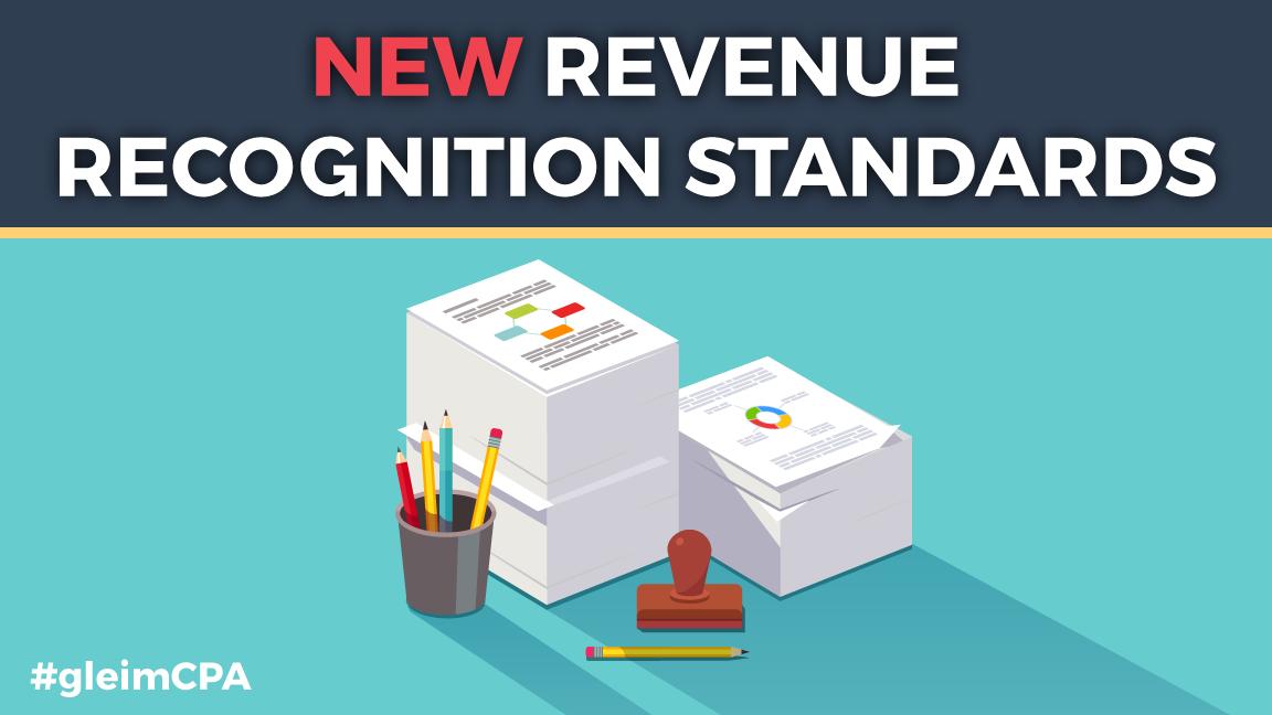 New revenue recognition standards
