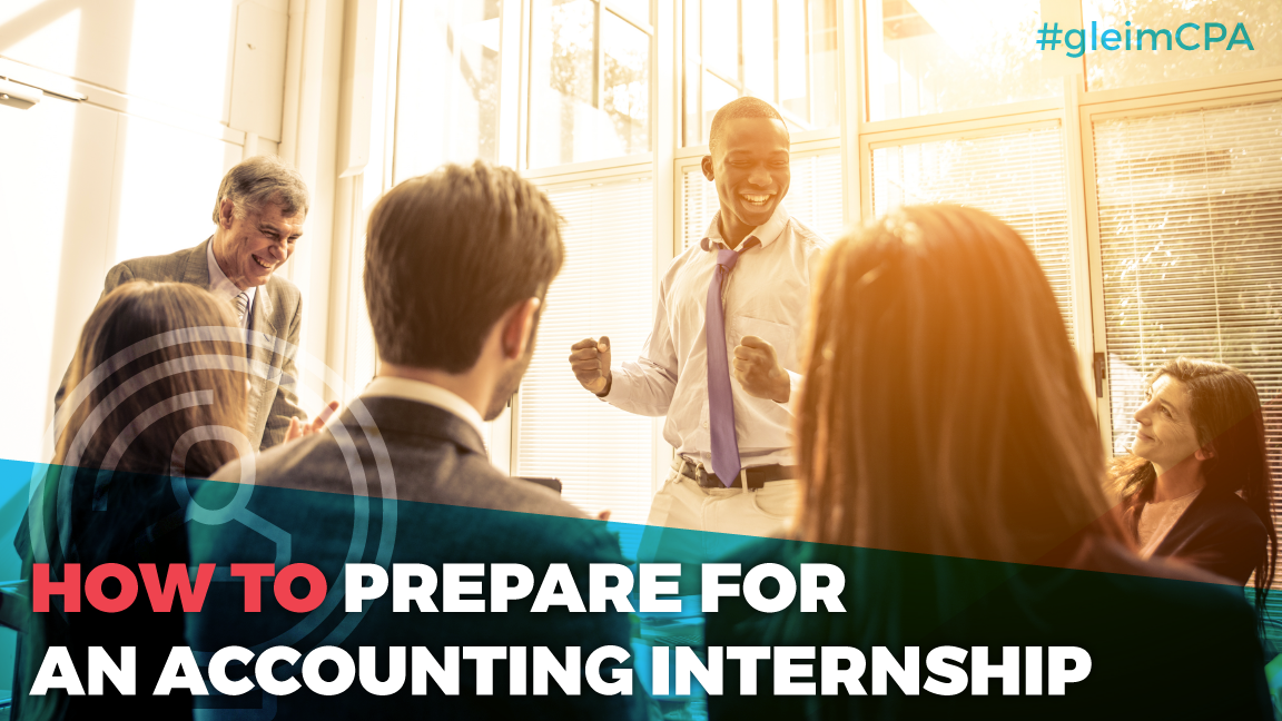 Preparing for an accounting internship