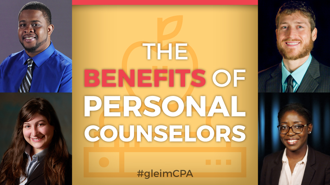 Benefits of Gleim Personal Counselors