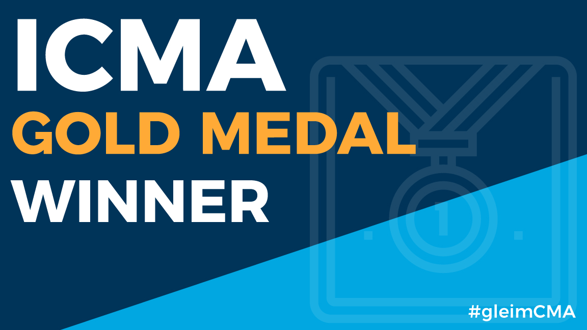 ICMA Gold medal winner