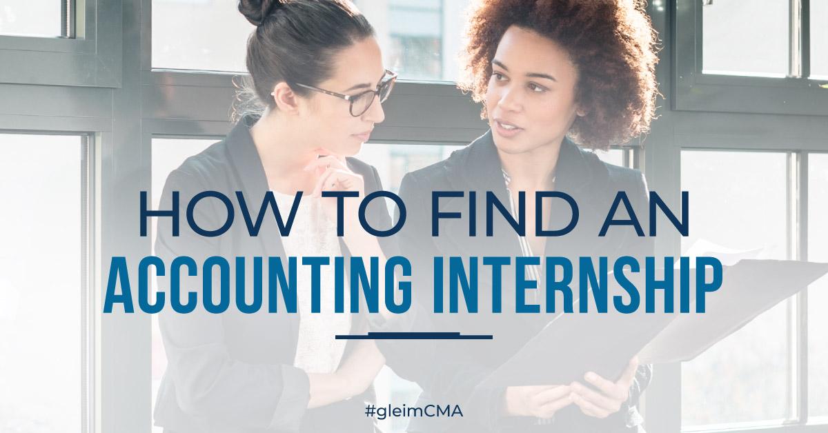 CMA Accounting Internships