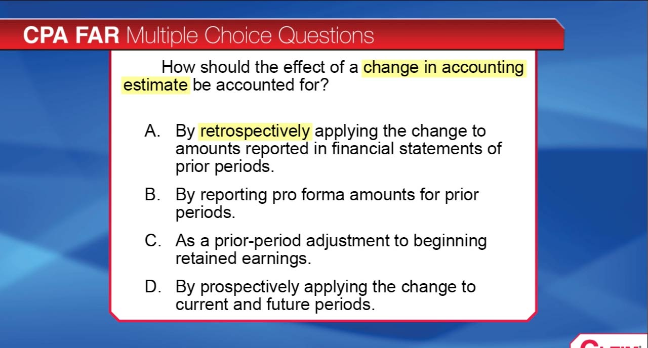 Sample Gleim Instruct CPA Question and Answer Discussion Video
