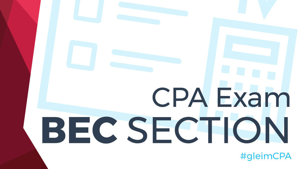 CPA Exam BEC section