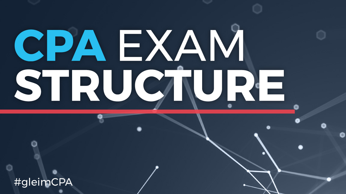 Structure of the CPA exam