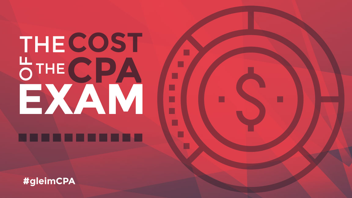 The cost of the CPA Exam