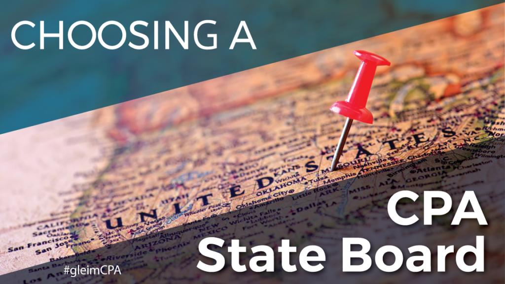Choosing a CPA State Board