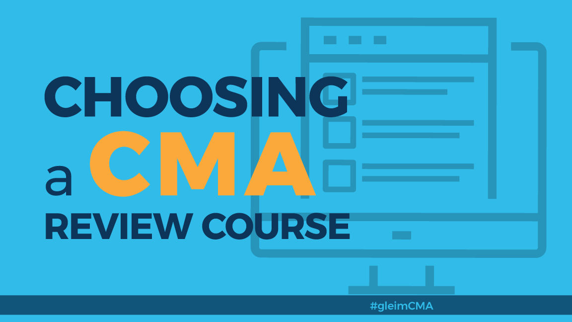 Choosing a CMA review course