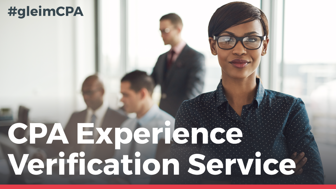 NASBA new experience verification service for CPA
