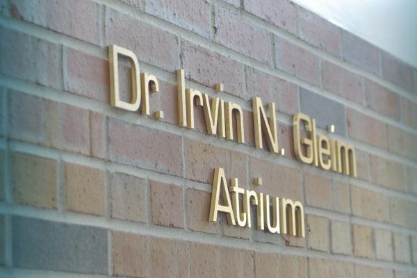 Dr. Irvin Gleim Atrium at UF