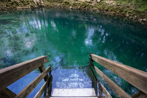 Florida Springs near Gainesville