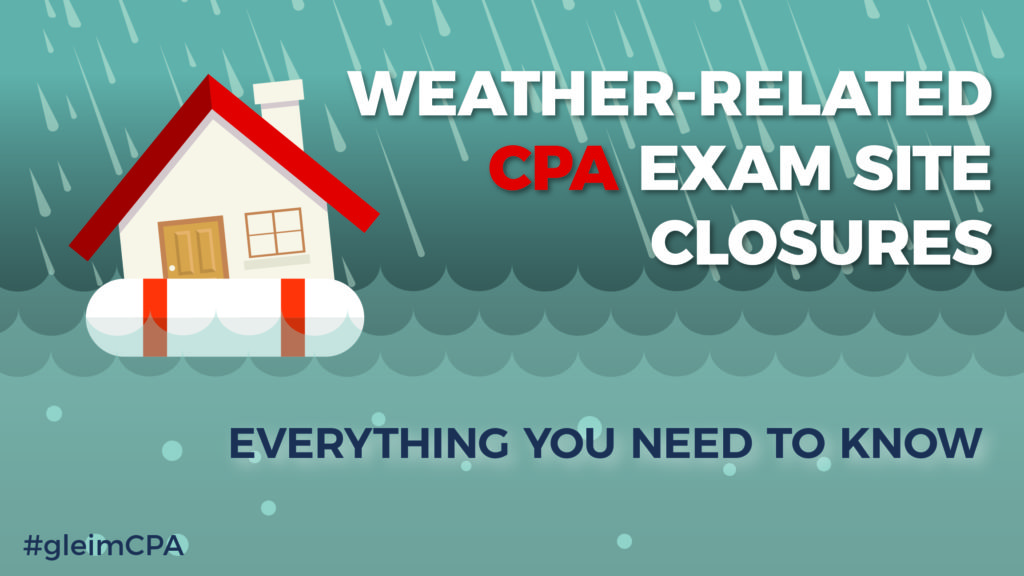 CPA testing site closures due to weather