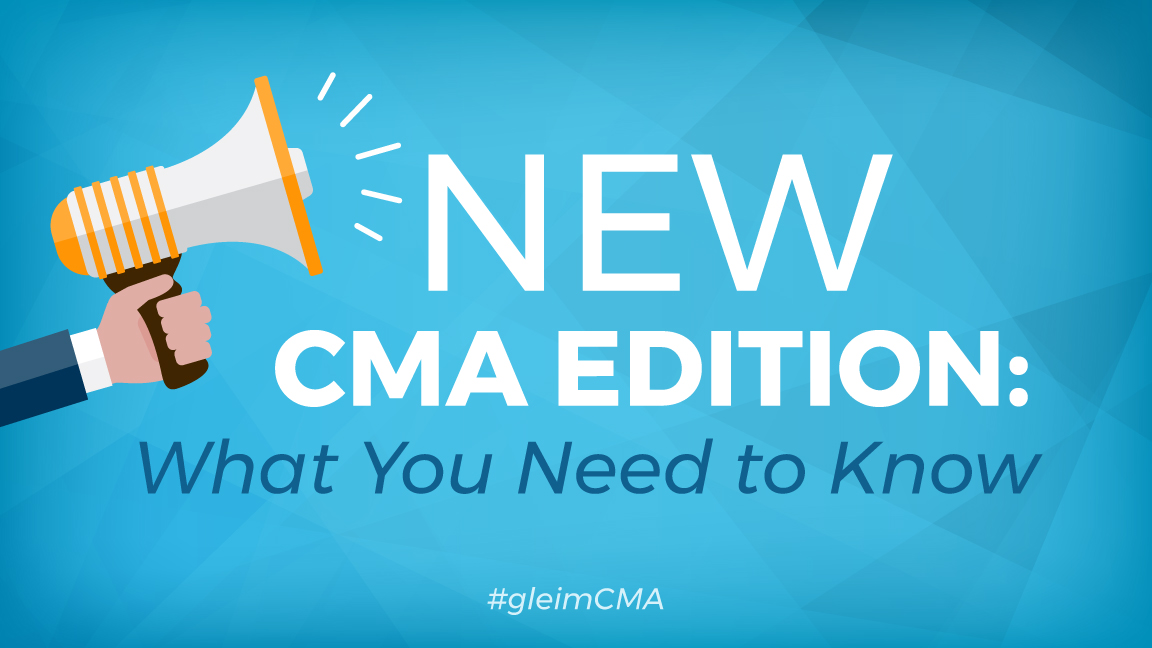 New CMA edition announcement
