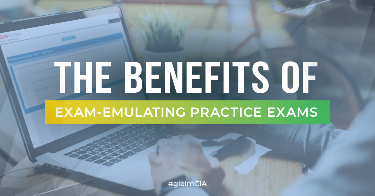 The Benefits of an Exam Emulating CIA Review