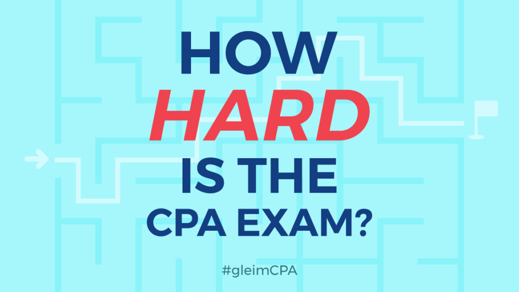 How Hard is the CPA Exam