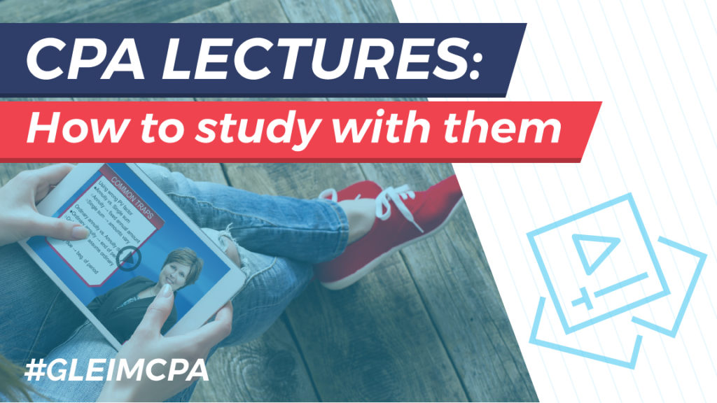 Studying with CPA Lectures