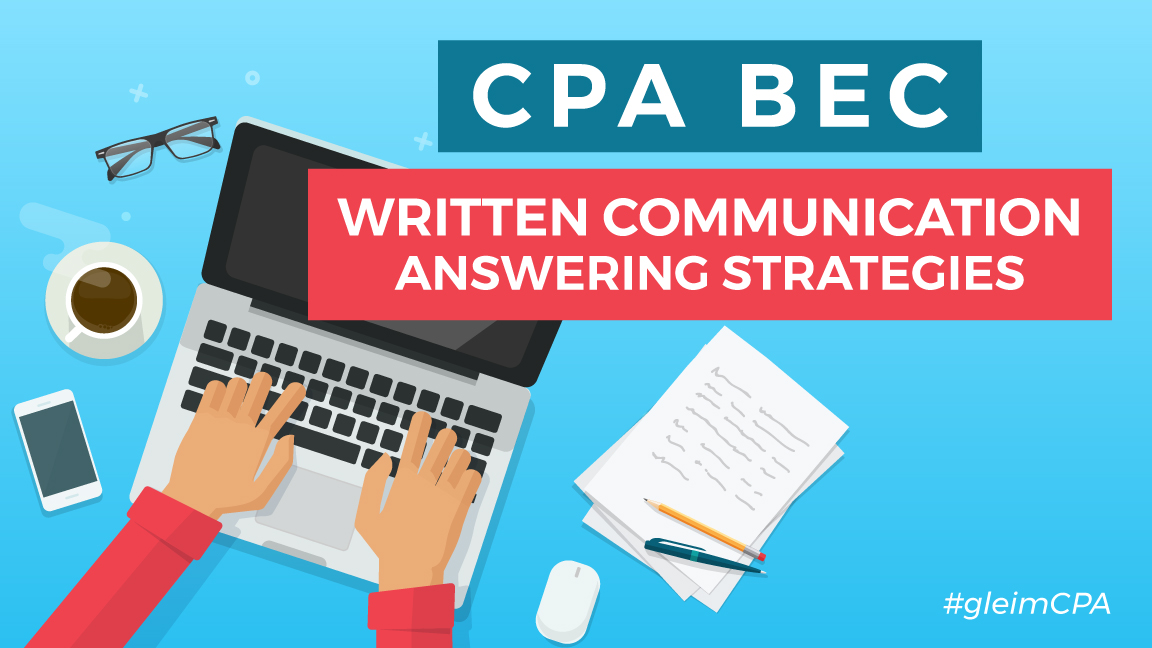 cpa bec written communications