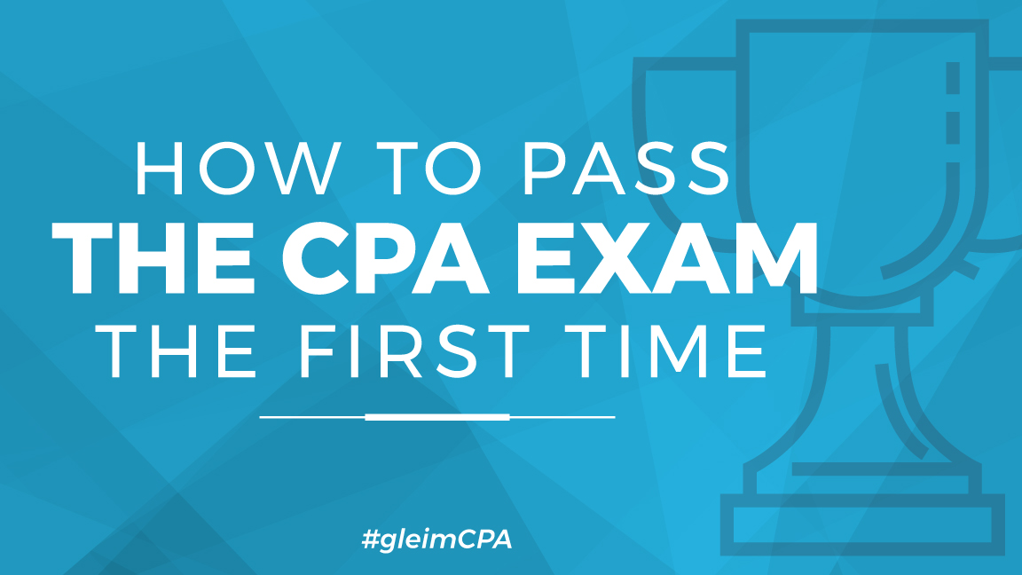 how to pass the cpa exam the first time