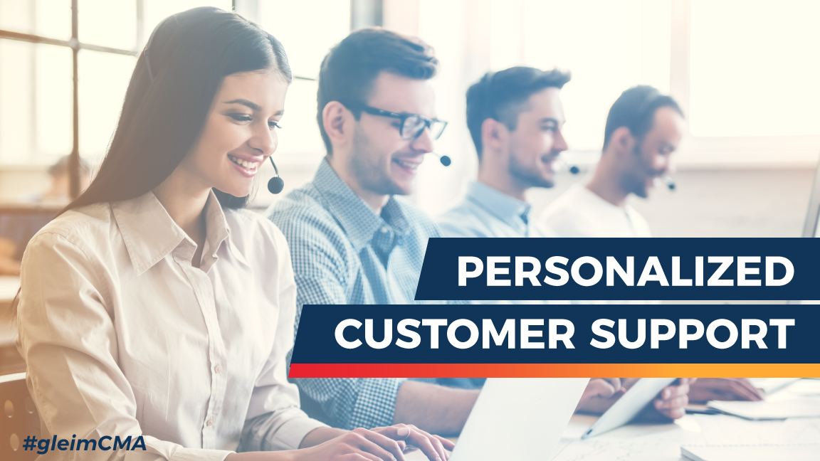 personalized customer support to prepare for the cma exam